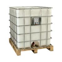 مخزن 1000 لیتری قابل حمل فریم دار مقاوم در برابر مواد اسیدی