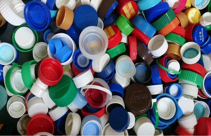 درب بطری های پلاستیکی